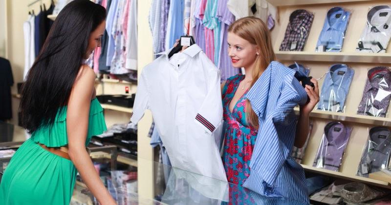 vendas de roupas atacado atendente
