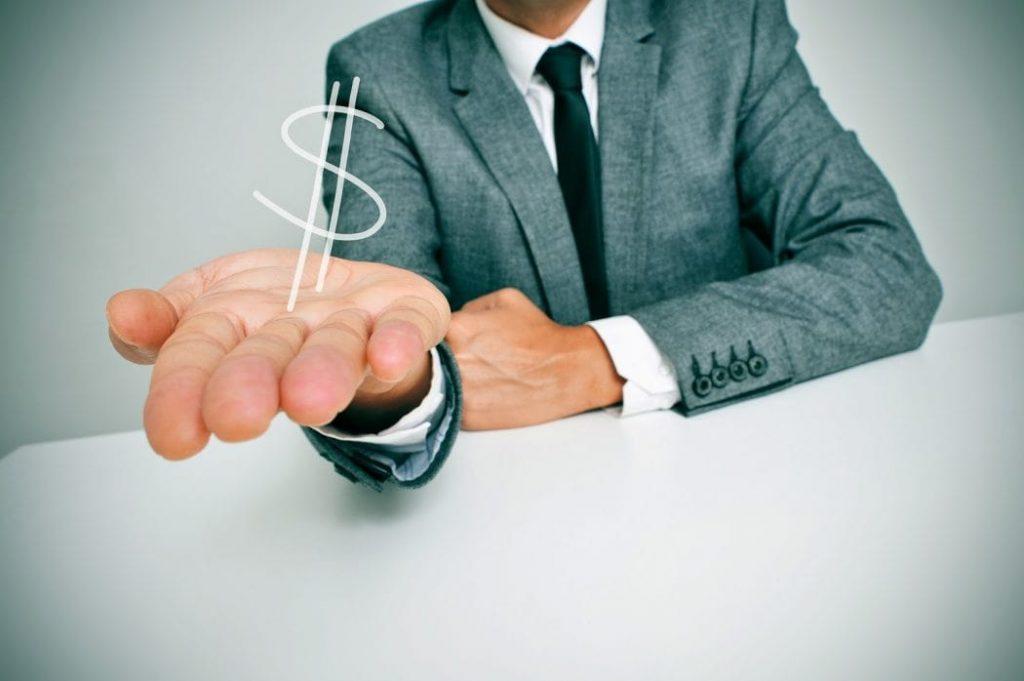 empréstimo para abrir negócios, cifrão