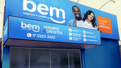 bem seguros e créditos fachada